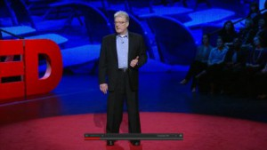 Sir Ken Robinson, TED-talk mei_2013